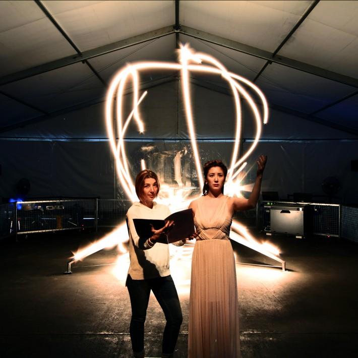 Mira Calix and Tereasa Duddy:ADA Project - Credit Conrad Shawcross-web